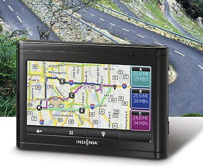 Best Buy Insignia NS-CNV20 and NS-CNV10 GPS Navigators