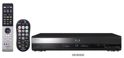 JVC Victor DR-BX500 Blu-ray HDD Recorder