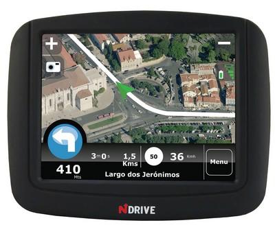 NDrive Touch GPS Navigation Device
