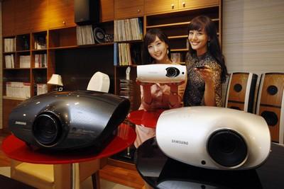 Samsung SP-A900, SP-D400 and SP-L300 Projectors