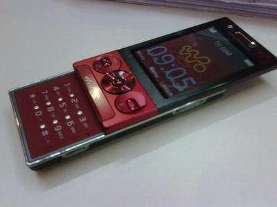 Sony Ericsson Rika W705 Walkman Slider