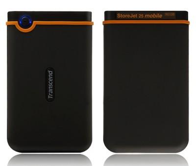 Transcend StoreJet 2.5 Mobile portable hdd