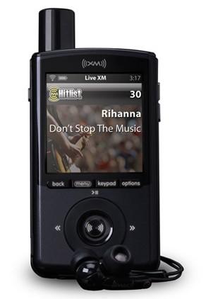XM XMp3 Portable Radio