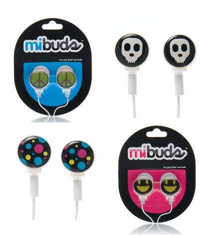 mibuds customize your iPod earbuds