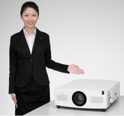 Sanyo LP-XTC50 Projector with lamp selection system