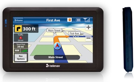 TeleNav ShotGun GPS Navigation Device