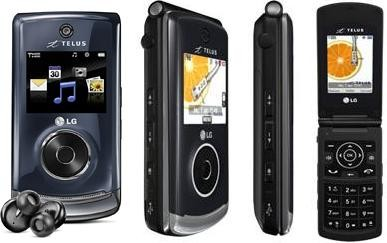 Telus LG Chocolate GiG Music Phone