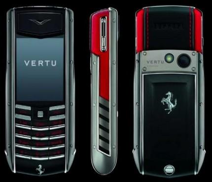 vertu Ascent Ti Ferrari collection ROSSO edition