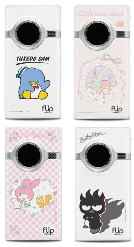 Flip Mino HD Hello Kitty & Friends Editions