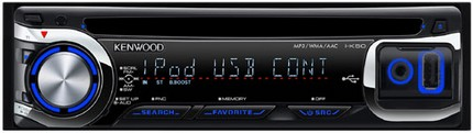 Kenwood I-K50 iPod-Friendly In-Car CD Player