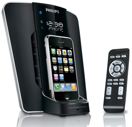 Philips Docking Entertainment System DC350 ipod iphone