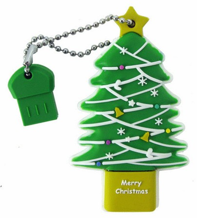 Super Talent RB-TREE-8G Christmas Tree USB Flash Drive