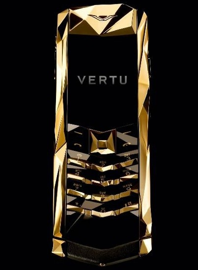 Vertu Boucheron 150 Solid Gold Luxury Phone