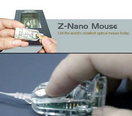 Z-Nano Mouse - World's Smallest Optical Mouse