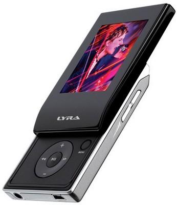 Audiovox RCA Lyra Slider MP3 Players