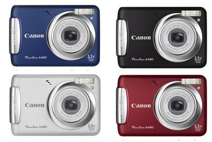 Canon PowerShot A480 Entry-level Camera