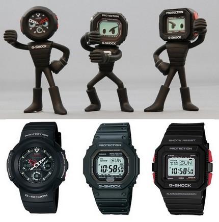 Casio G-Shock Figures