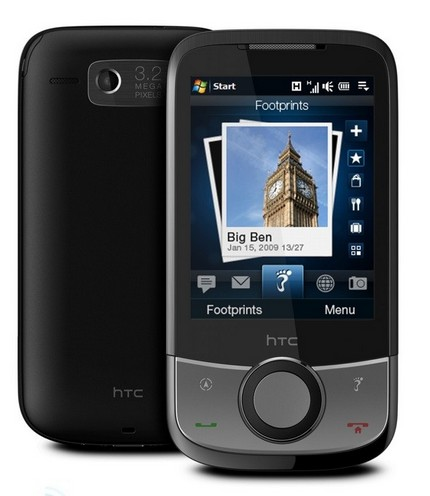 HTC's new Touch Cruise with HTC Footprints