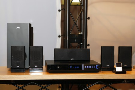 JVC H-G41 ipod home theater system