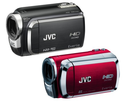 JVC HD Everio GZ-HD300, GZ-HD320 and GZ-HM200 Full HD camcorders