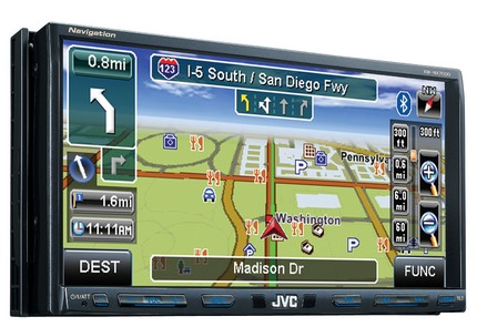 JVC KW-NX7000BT AV Navigation receiver