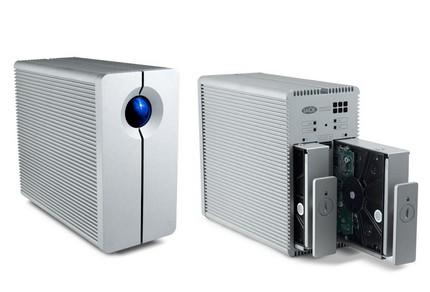 LaCie 2big Quadra two-bay quad-interface RAID Drive