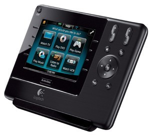 Logitech Harmony 1100 touchscreen universal remote control
