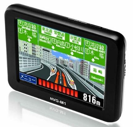 NaviPota MoveOn NVG-M1 GPS Device with 1Seg TV Tuner