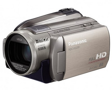 Panasonic HDC-HS200 hard drive full hd camcorder