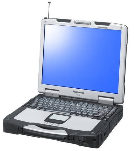 Panasonic Toughbook 30 rugged Clamshell Laptop