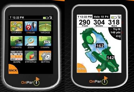 Savant GPS OnPar touchsreen GPS rangefinder