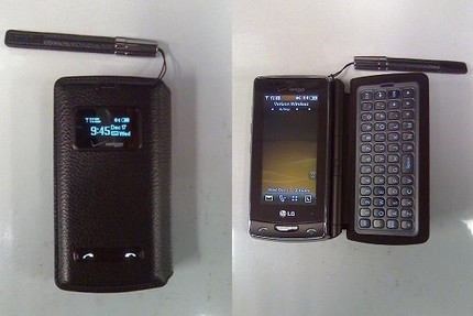 Verizon LG VX9600 Versa QWERTY Phone Leaked