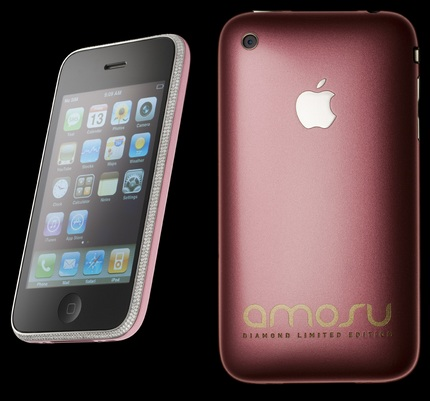 amosu Diamond Pink iPhone 3G