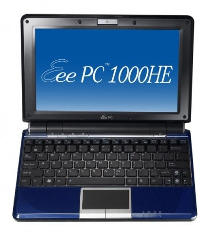 Asus Eee PC 1000HE 9.5 hours of life