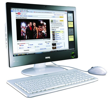 BenQ nScreen i91 and i221 All-in-one PCs