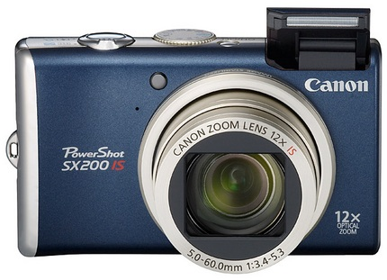 Canon PowerShot SX200 IS 12X Zoom Digital Camera