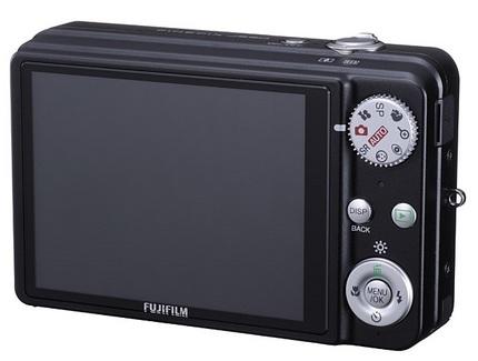 FujiFilm FinePix J250 compact camera back