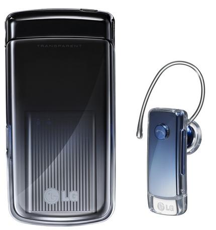 LG GD900 with transparent keypad
