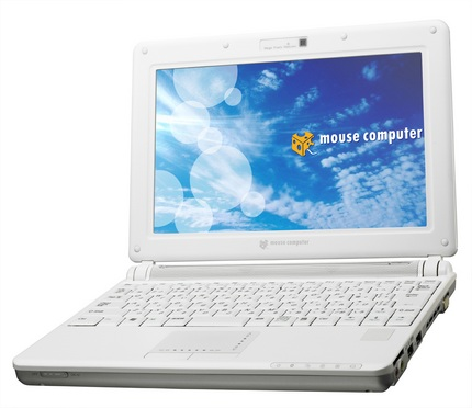 Mouse Computer LB-F1500W netbook with DVD-ROM