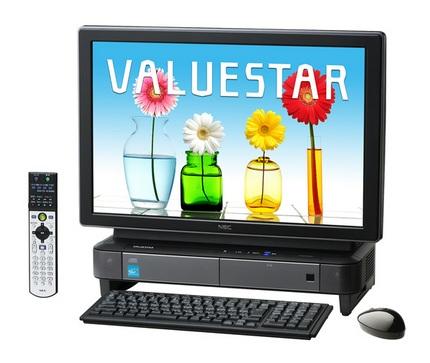 NEC ValueStar W Quad-Core All-in-One Desktop PC