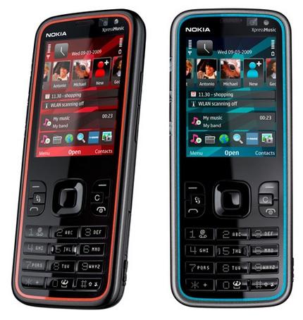 Nokia 5630 XpressMusic Slim HSPA Phone