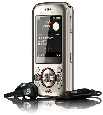 Sony Ericsson W395 Walkman Slider Phone