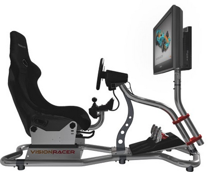 SystemVelocita VisionRacer VR3 racing simulator