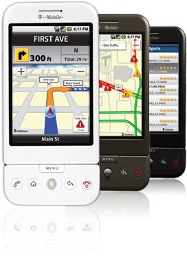 TeleNav GPS Navigator for T-Mobile G1