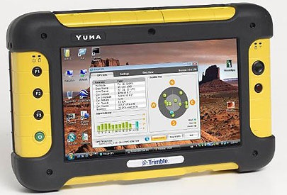 Trimble Yuma Rugged Tablet PC