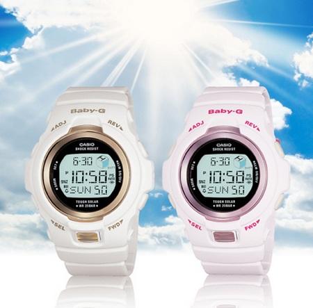 Casio Baby-G BGR3000J Solar Atomic Slim Marine Watch