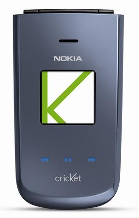 Cricket Nokia 3606 Slim Flip Phone