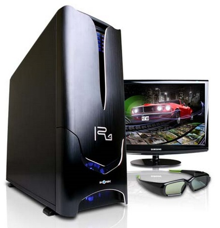 CyberPower Gamer Xtreme 3D 1000 and 2000 Desktop PCs