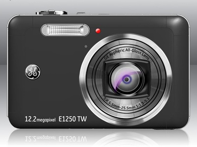 GE E1250TW Digital Camera with touchscreen