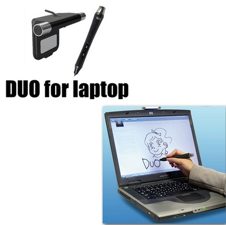 Hanwha Duo for Laptop digital pen